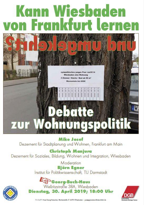 Debatte zur Wohnungspolitik