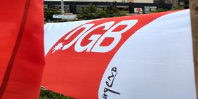 Fahne der DGB-Jugend