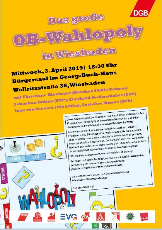 Wahlopoly Wiesbaden