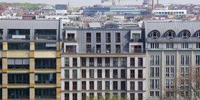 Hausfassade am Hackeschen Markt in Berlin