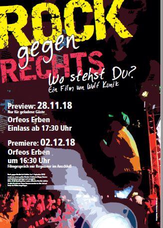 Rock gegen Rechts - Ein Film von Wolf Kunik