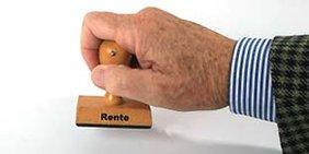 Stempel Rente