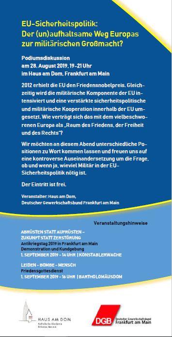 EU-Sicherheitspolitik