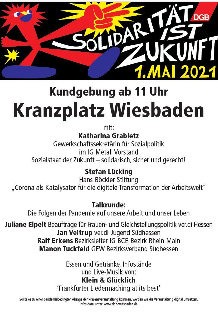 1. Mai Wiesbaden