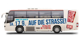 Bus TTIP CETA Demo 2016