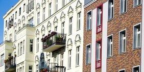 Fassaden von Altbauten