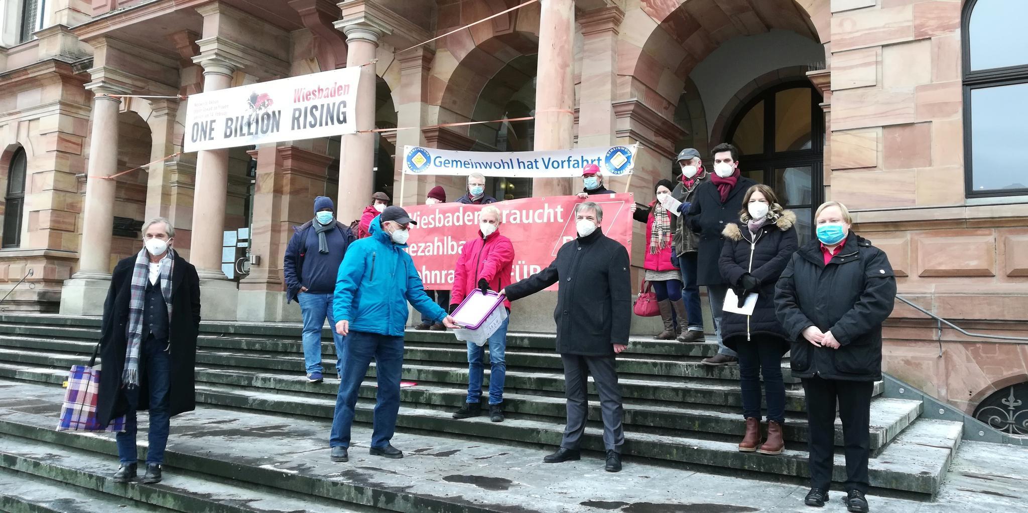 Unterschriften Wohnen Wiesbaden
