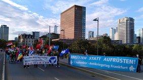 Antikriegstag 2020 in Frankfurt am Main - Abrüsten statt Aufrüsten