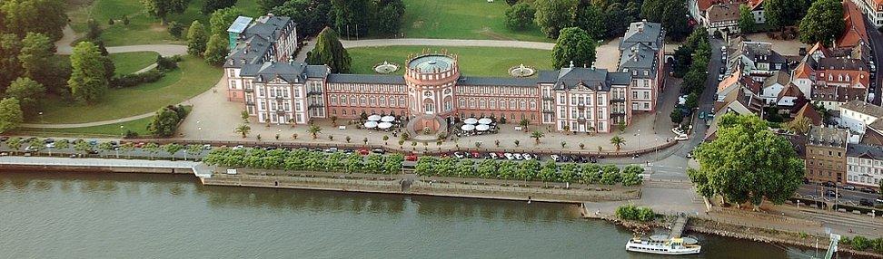 Ansicht Schloss Biebrich